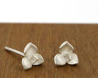 Succulent earrings, plant stud, flower earrings, succulent stud, botanical earrings, succulent jewelry, botanical earrings, green jewelry
