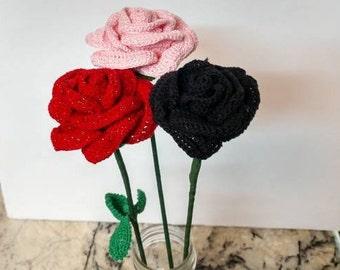 Forever Rose (crocheted)