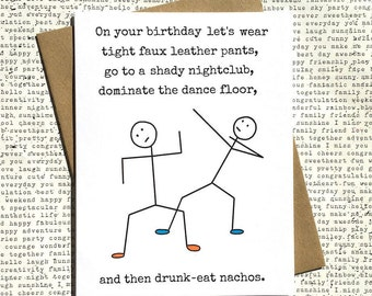 Gay anniversary card gay birthday card my favourite gay funny birthday card birthday card funny funny birthday card best friend funny birthday bookmarktalkfo Gallery