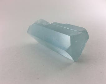 Massive 2.4oz Exceptional Beryl (var. Aquamarine) Crystal with Complex Termination