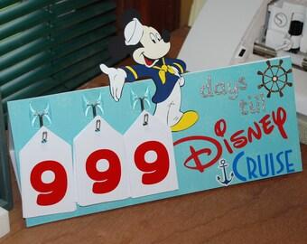 Disney Cruise Countdown Calendar