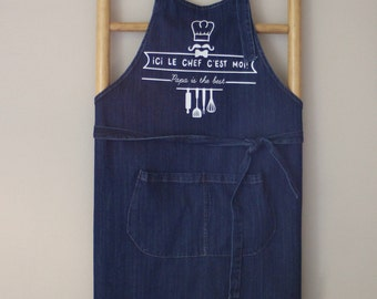 Man of Jean apron