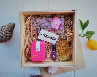 Ply Hamper / Wood Box with Lid