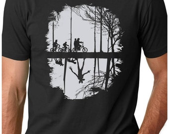 Stranger Things Shirt - Upside Down Tshirt - Demogorgon Graphic tee Inspired by Stranger Things tee Hawkins - Mens or Ladies sizes - Limboea