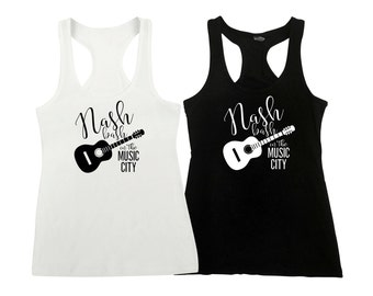 Nash Bash in the Music City Bridal Party Combo Bachelorette Party, Bridal Party Tanks, Nash Bash Nashville Bachelorette Party Nash Bash Tank
