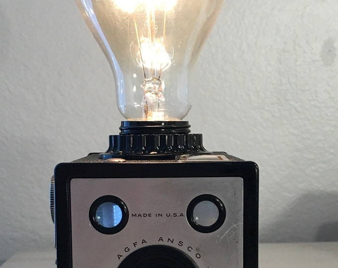 Lamp. Lightning . Box camera accent light. Perfct Gift for photographers