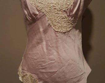 S / Camisole / Cami / Silk & Lace / Small