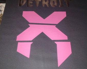 Paradox Black & Pink Tee