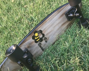 Hardwood skateboard