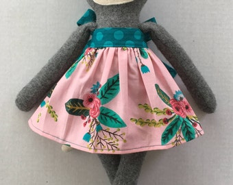 "PumpernickelPlum Silver Fox Doll ""Sage"" - Girl"