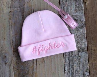 Fighter Preemie Beanie Hat