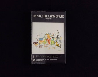 Crosby, Stills, Nash & Young - So Far - Cassette Tape
