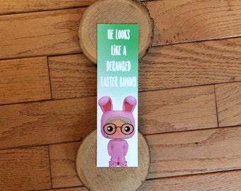 Deranged Easter Bunny Bookmark