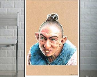 Pepper - American Horror Story -Freakshow   - Fine Art Print - A4/A3
