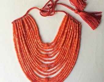 Red Coral Necklace Modern Coral Jewelry Coral Beads Real Red Coral Necklace Ethnic Style Necklace Natural Coral Beads Coral Jewelry Gift 22