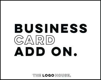 Business Card Design Add On