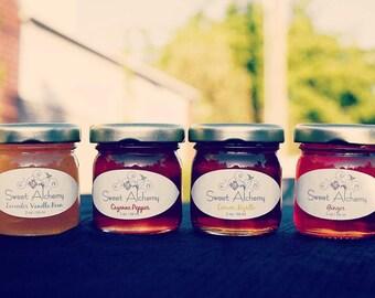 Lavender Vanilla Bean Infused Honey -2oz jars (Case of 50)