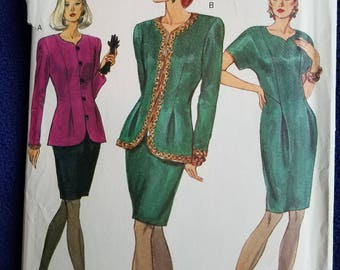 Vogue Skirt Suit and Dress Pattern