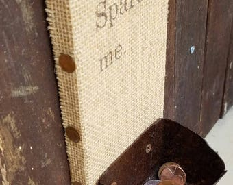 Spare Me - Rusty Cup Penny Catcher