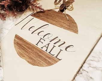 Fall Sign Fall Decor Farmhouse Fall Decor