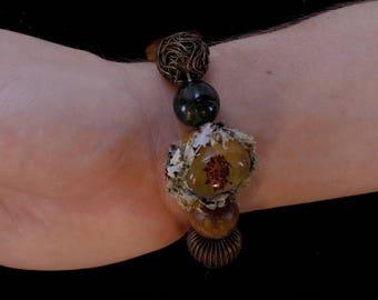 Orb weaver bracelet