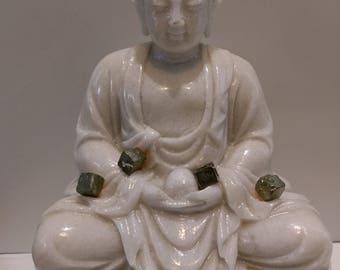 12 gr pyrite healing stone, reiki, meditation stone, stone of spirituality