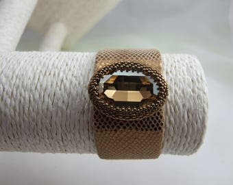 Brown Crystal bracelet