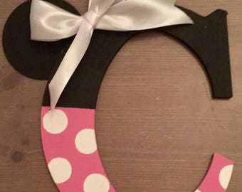 Minnie Mouse Letter - All letters available!