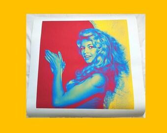 Brigitte Bardot Lithograph number 56/250