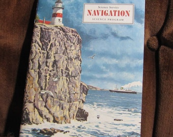 "Vintage ""Navigation"" Booklet by Nelson Doubleday and the Science Service Program copyright 1967 - ALL Stickers Unused!"
