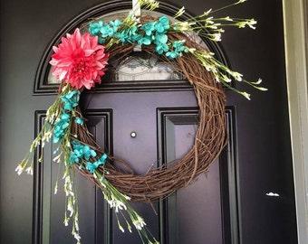 Fun Flower Wreath