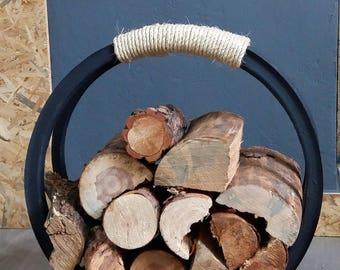 Log/Firewood Rubber Carrier Holder