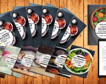 Exclusive Diet sugar Repair Program Weight loss - Planner Printable | beauty and the beast | digital download | diet coke | Food | Fitness