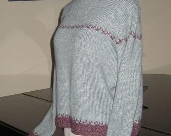 Hemp Tweed woman's pull over sweater