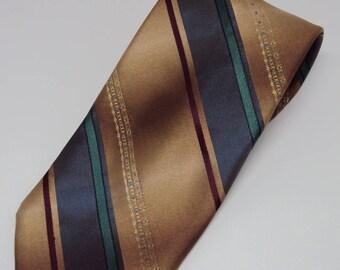 Vintage Towncraft Stripe Necktie 60s