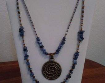Unique Hippy Chic Necklace