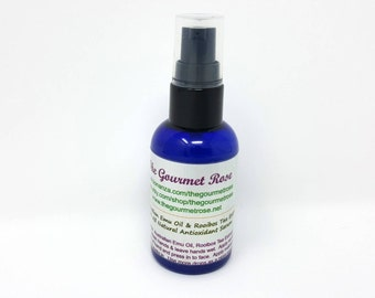 2 oz ROOIBOS TEA emu oil Moisturizer Pure All Natural Skin Treatment Pump Serum Aging Skin Day Facial Face Night Cream Lotion Grade A