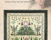 NEW! HANDS ACROSS the SeA Amy Cann 1831 counted cross stitch patterns at thecottageneedle.com 2018 Nashville Market
