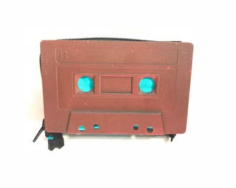 80s Retro Cassette Tape Wallet