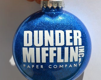 The Office Christmas Ornament ~ Funny gift perfect for father, brother, boyfriend, co-worker, sister, mother, Dwight Schrute, or boss