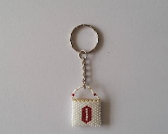Letter 'O' Handbag keyring