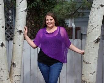 Royal Purple - Arizona Shawl