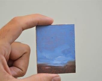 UTOPIA 5 / Original Oil Painting / Refrigerator Magnet