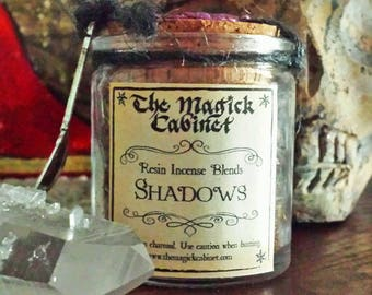 Shadows Incense, Samhain Incense, Halloween, Witchcraft, Wicca, Witch, Handcrafted Incense, Aromatherapy, Natural Incense, Incense Blend