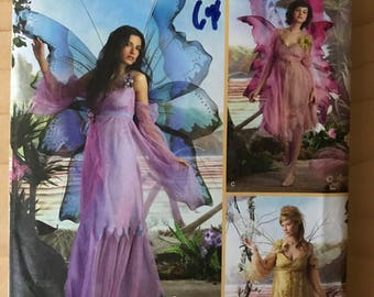 Simplicity 3632 - Elaine Heigl Fairy Costume Collection with Dress, Skirt, and Pants - Size 14 16 18 20