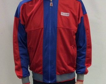 Vintage 70s Reebok Polyester Zip-Up Jacket