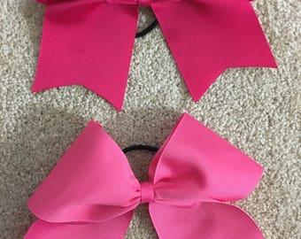 Blue Red Pink Cheer Bow