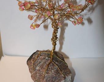 Sunshine Wire Tree Sculpture