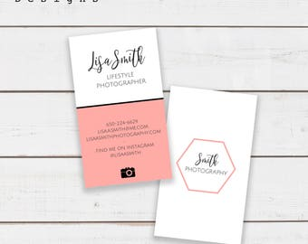 Business Card Design | Personalized | Photographer