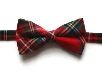 Boys Bow Tie - Tartan Bow Tie - Plaid Bow Tie - Bow Tie for Boys - Kids Bow Tie - Pre-tied Bow Tie - Boys Bow Ties - Boys Bowtie
